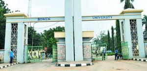 Bowen University students allegedly burn down hostels after school suspended 200 students for refusing drug tests (Photos)