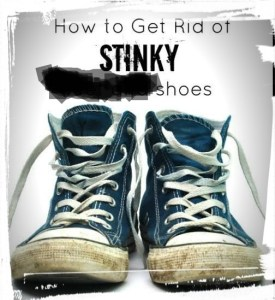 How to stop your shoes from smelling bad