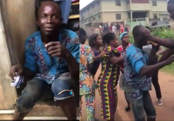 Man caught stealing panties from a FUTA student