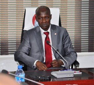 EFCC acting chairman, Ibrahim Magu as been reportedly suspended by President Buhari.