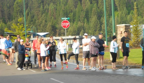 Long lines like this at the Spokane Runners Park are an everyday thing