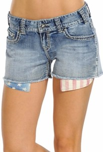 jean shorts from Langstons
