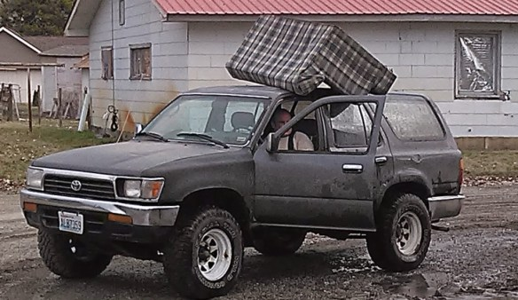redneck couch delivery