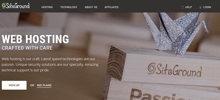 SiteGround Web Hosting Services