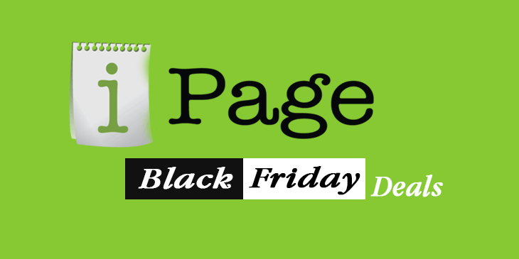 ipage hosting black friday deal