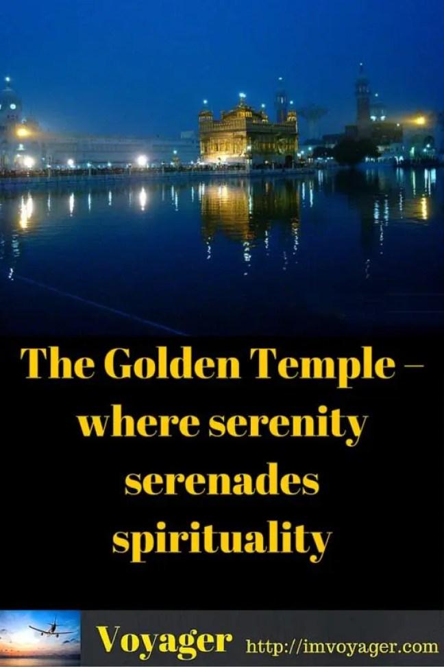 The Golden Temple – where serenity serenades spirituality