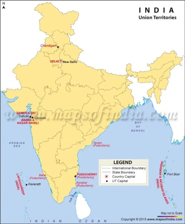 Union Territories