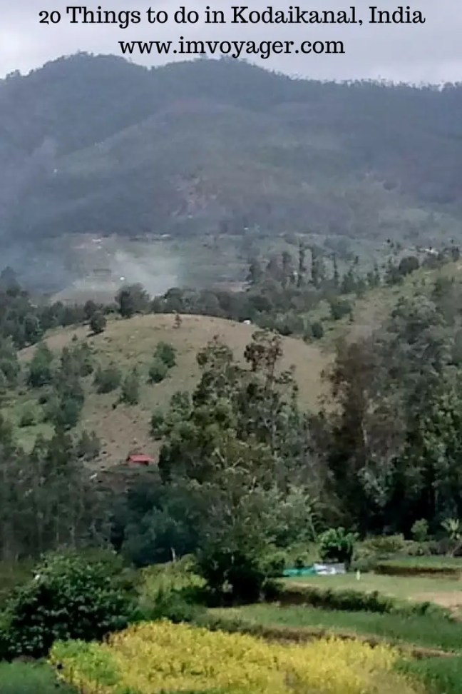 20 Things to do in Kodaikanal, India