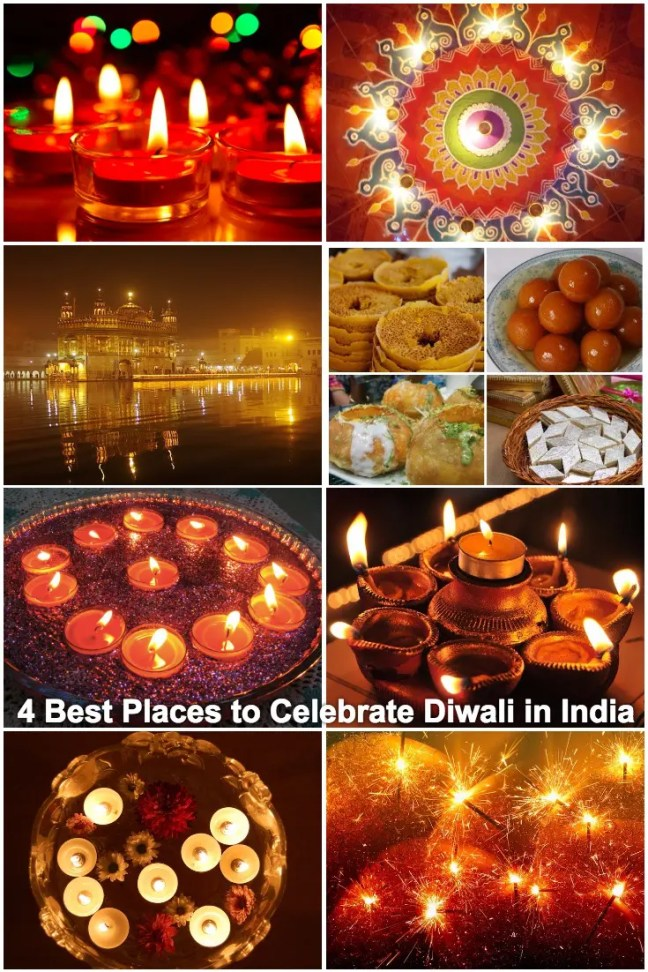 4 Best Places to Celebrate Diwali in India