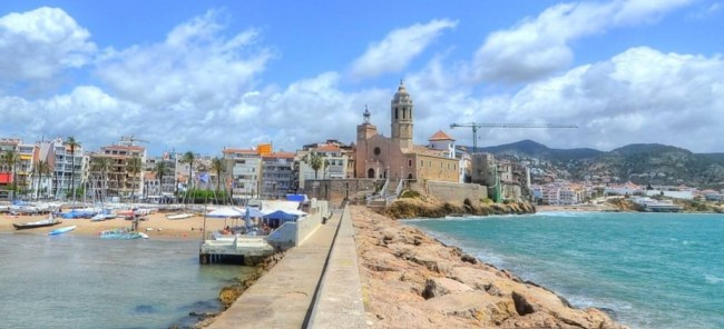 Sitges town