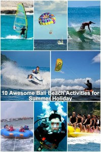 Bali beach activities