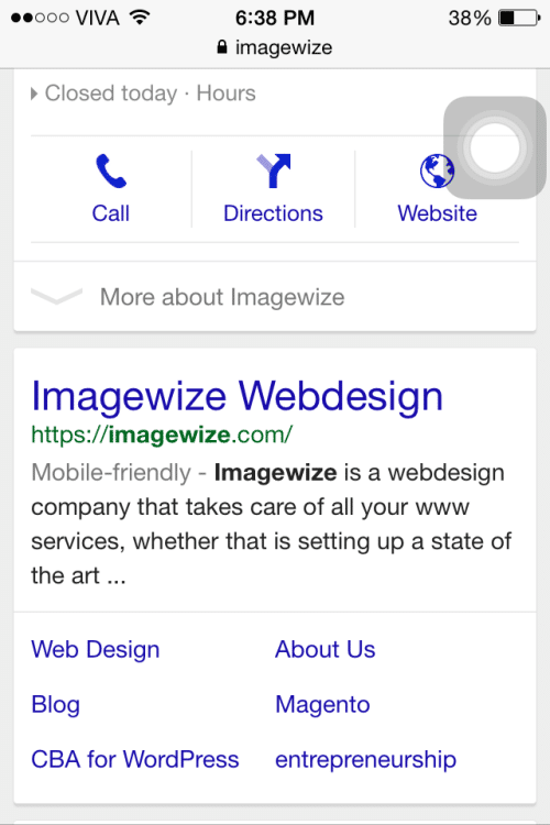Imagewize mobile ready