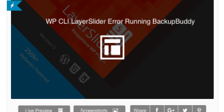 WP CLI Error Running BackupBuddy Backup
