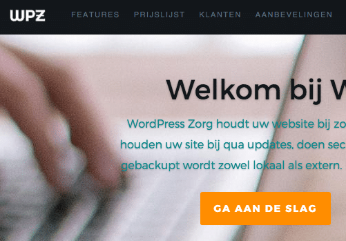 WP Zorg featured