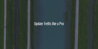 Update Trellis Like A Pro