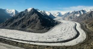 The Kaskawulsh Glacier