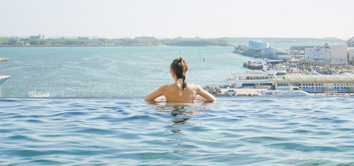 Four Points by Sheraton Penghu|Accommodation in Penghu|Super comfortable infinity pool
