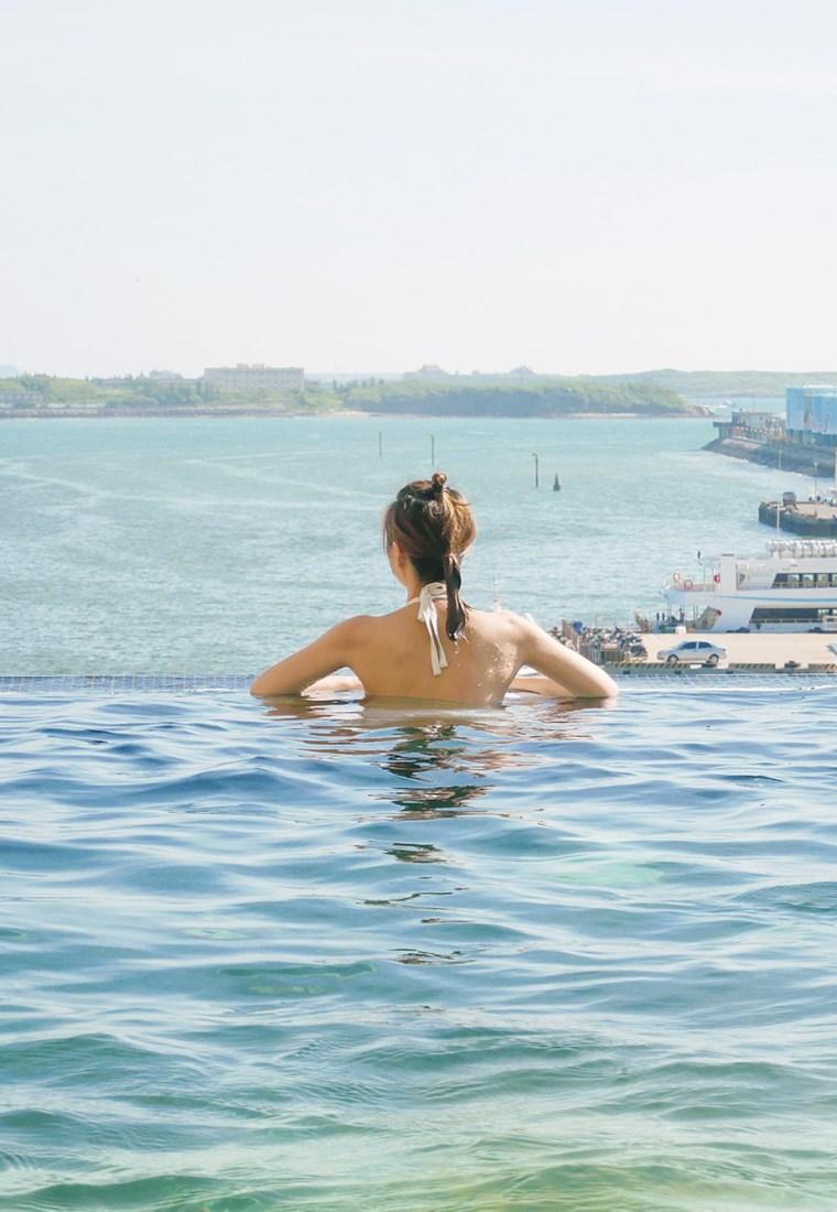 澎湖福朋喜來登酒店 Four Points by Sheraton Penghu|澎湖.住宿|超舒適無邊際泳池
