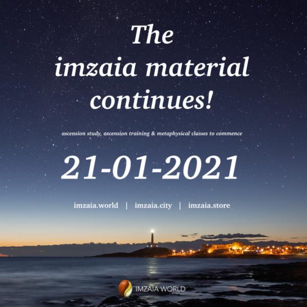 Imzaia Quote for 20 January 2021