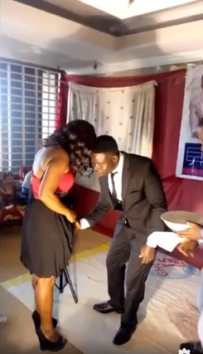 Pastor Remove Panties & Shave His Female Congregants In A Disgusting Video