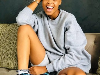 Actress Ntando Duma Responds To Rumours On Dating Teddy From Gomora