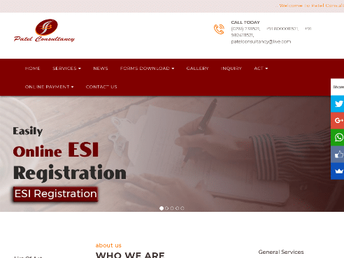 PF, ESI, Labour Law Consultant Services _ Patel Consultancy