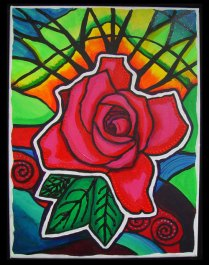 Rose Sunset, $450