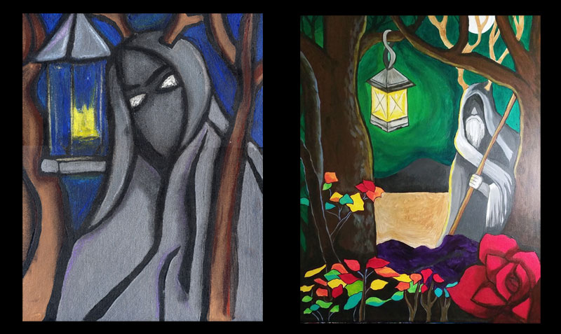 Hermit's Lamp: 10 years of my efforts to be a painter