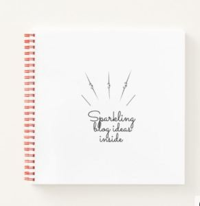 Notebook_sparkling ideas