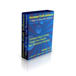 Small business management software - Increase Profit Software - learn how to increase sales and profits