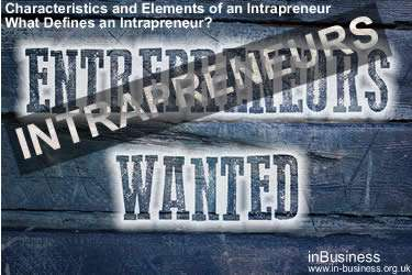 Intrapreneurship Definition - Characteristics and Elements of an Intrapreneur – What Defines an Intrapreneur