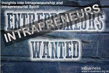 Intrapreneurship Definition - Insights into Intrapreneurship and Intrapreneurial Spirit