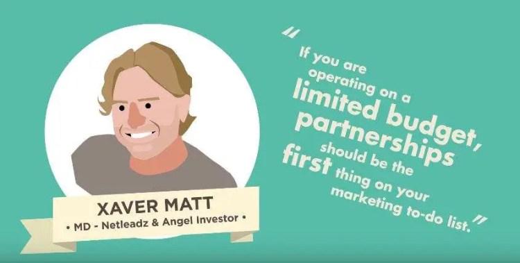 Partnership Marketing for audience growth - Xaver Matt - Netleadz and Angel Investor
