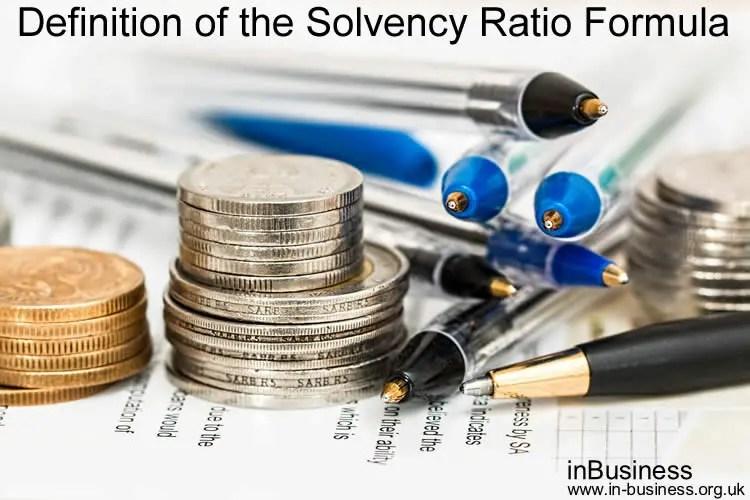 Solvency ratio formula - Definition of the Solvency Ratio Formula