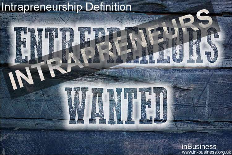 Intrapreneurship Definition - Characteristics of an Intrapreneur
