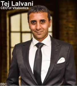 Dragons Den Tej Lalvani - successful entrepreneur
