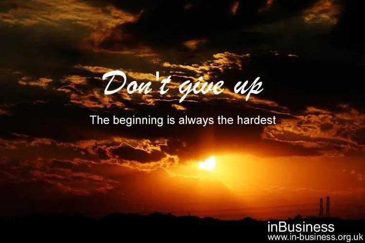 Authorpreneur - don't give up
