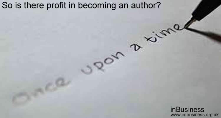 So is there profit in becoming an author
