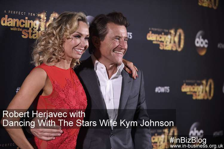 Robert Herjavec and wife Kym Johnson