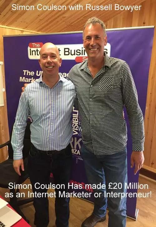 Interpreneur - Simon Coulson - owner of the Internet Business School