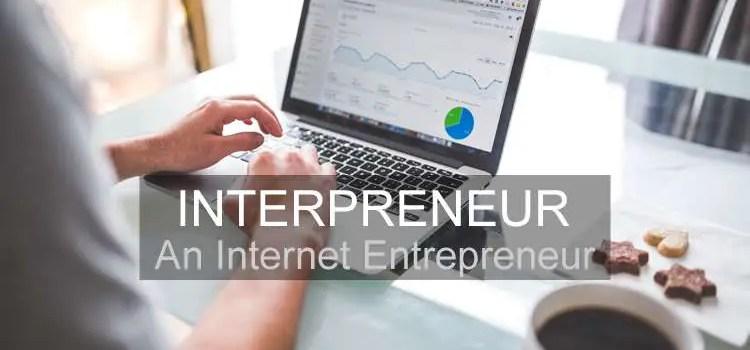Interpreneur - an internet entrepreneur