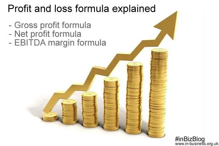 Profit and loss formula explained