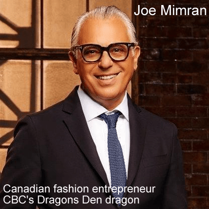 Joe Mimran net worth image