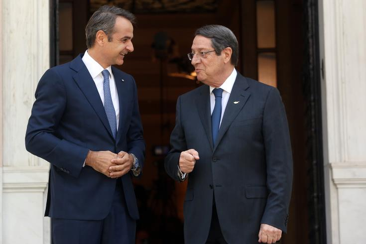 Cyprus' President–Greece's PM coordinate in view of forthcoming European Council meeting