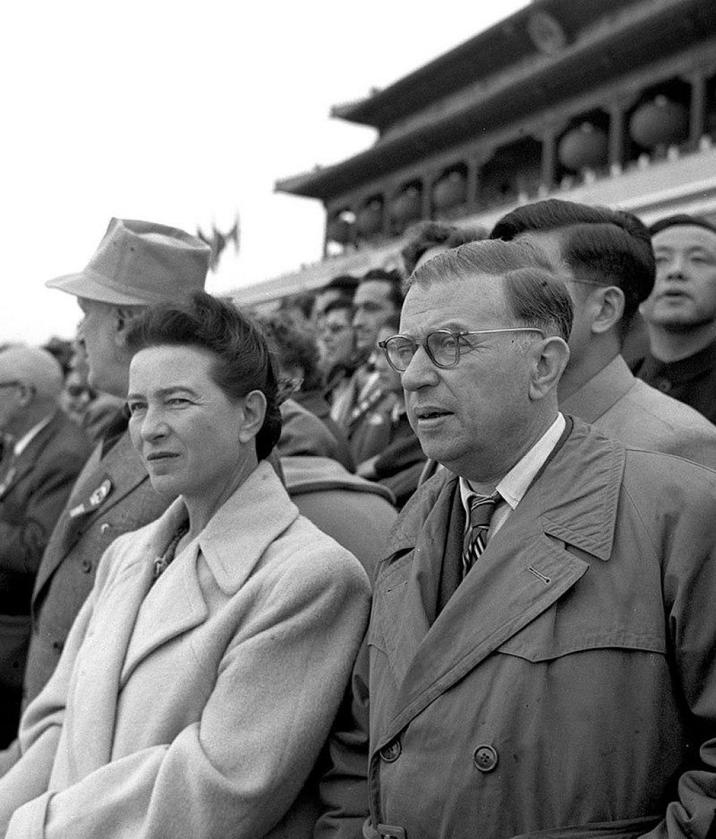 photo de Simone de Beauvoir et Jean-Paul Sartre