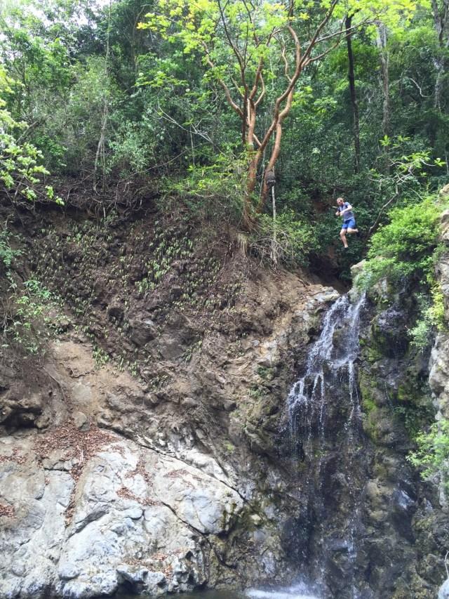 MonteZuma Cliff Jumping