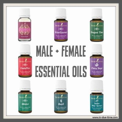 Young Living Essential Oil Female and Male Health