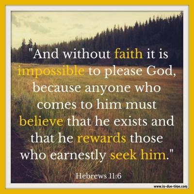 Hebrews 11 - In Due Time Blog