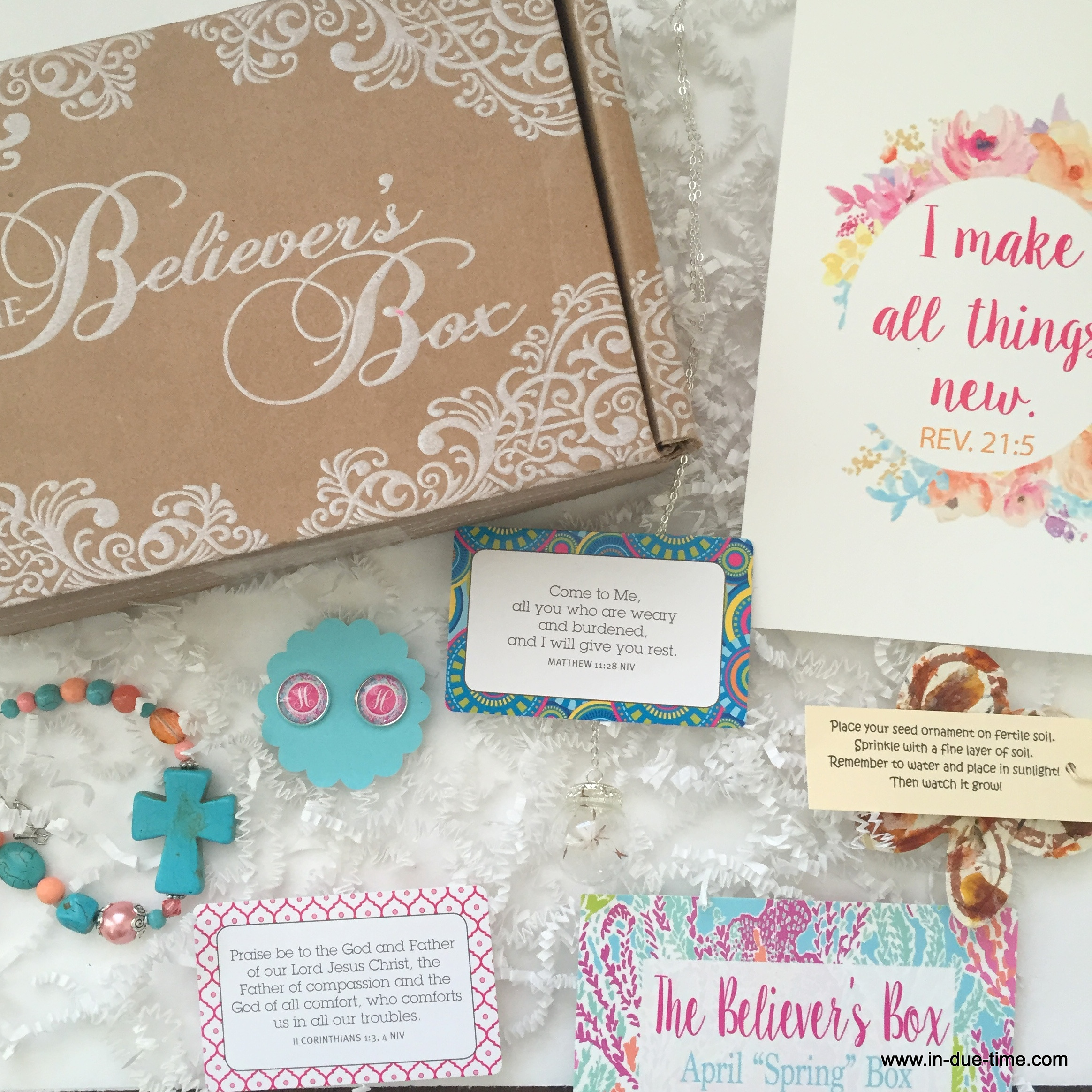 The Believer's Box Giveaway