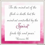 Romans 8:6 Mind of Christ #137